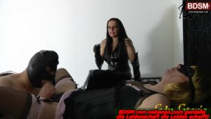 Blastraining – Sklaven beim Oralsex Lady-Latoria