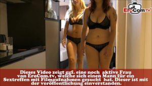 Zwei Deutsche Tanten beim flotten Dreier