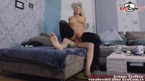Verbotener Sex mit blonder Stief Tante Eva Krupp