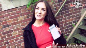 Echtes Autodate mit Teen Lulu Gun über Dating App
