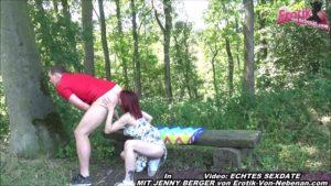 Deutsche Amateur Schlampe Outdoor Pussy besamt